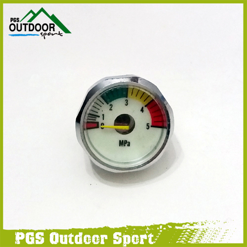 PCP Gauge Manometre Manometer 5mpa Luminous Mini Micro Pressure Gauge M10 *1-in Paintball Accessories from Sports & Entertainment