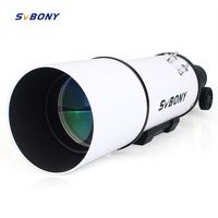 SVBNOY SV20 80mm Compact Refractor Astronomical Telescope Astronomy Monocular Optical Tube Imaging Clear for Guide Star