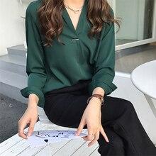 Fashion Women Chiffon Blouse Shirt Office Work Wear Women To