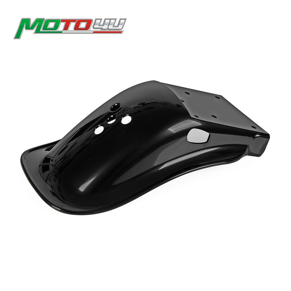 Black Rear Fender Mudguard Tire Hugger Fender Motorcycle Accessories For KAWASAKI Z900RS 2017 2018 2019Black Rear Fender Mudguard Tire Hugger Fender Motorcycle Accessories For KAWASAKI Z900RS 2017 2018 2019