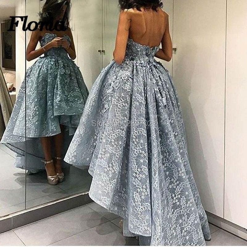 African Couture High Low   Evening     Dresses   Aibye Arabic Turkish 2018 Formal Prom   Dress   Kaftan Gradient Gowns Vestidos de Lougue