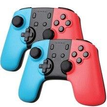Bezprzewodowy kontroler do gier na przełącznik konsoli Nintendo PC Android Bluetooth akumulator Gamepad Joystick przełącznik do Nintendo Pro