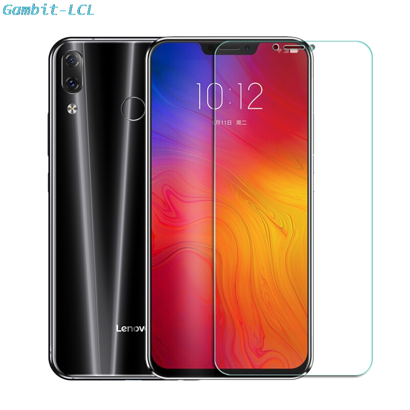 "2PCS 2.5D 9H Premium Tempered Glass For Lenovo Z5 6.2"" Screen Protector Toughened protective film cover"