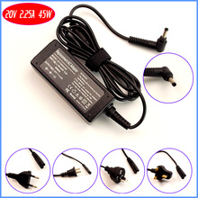 20V 2.25A laptopa adapter ac/baterii ładowarka do lenovo ADLX45DLC2A ADL45WCD ADL45WCG ADLX45NCCA PA 1450 55LI