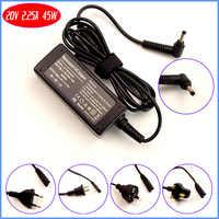 Adaptateur secteur pour ordinateur portable 20 V 2.25A/chargeur de batterie pour Lenovo ADLX45DLC2A ADL45WCD ADL45WCG ADLX45NCCA PA-1450-55LI