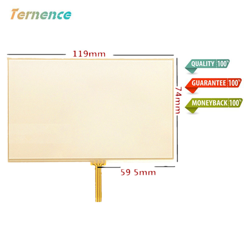 Skylarpu 5-inch 117mm*73mm Touch Screen Panels For LMS500HF01, LMS500HF05, LMS500HF06 Touch Screen Digitizer Panel Replacement