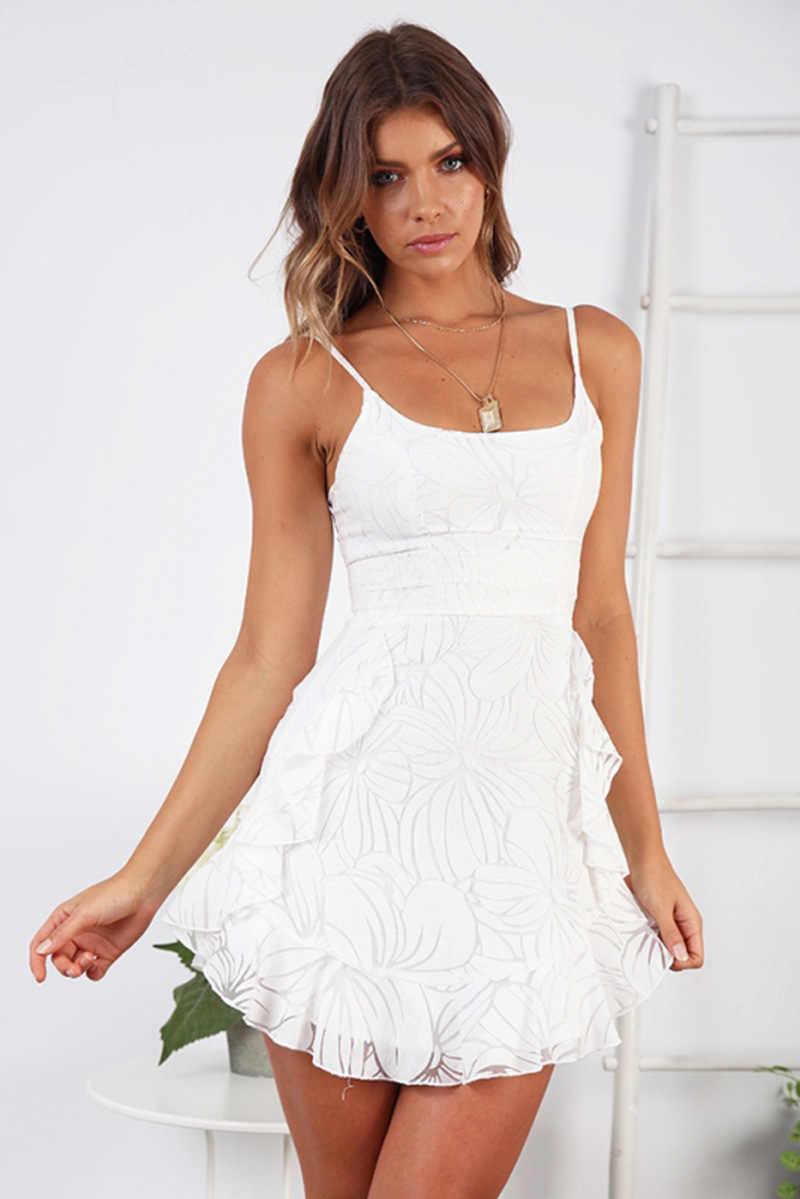 שמלת קיץ שמלות 2020 שרוולים כיכר צוואר כבוי כתף אופנה פרח הדפסת חדש פופולרי נשים שמלה vestidos ONY101127