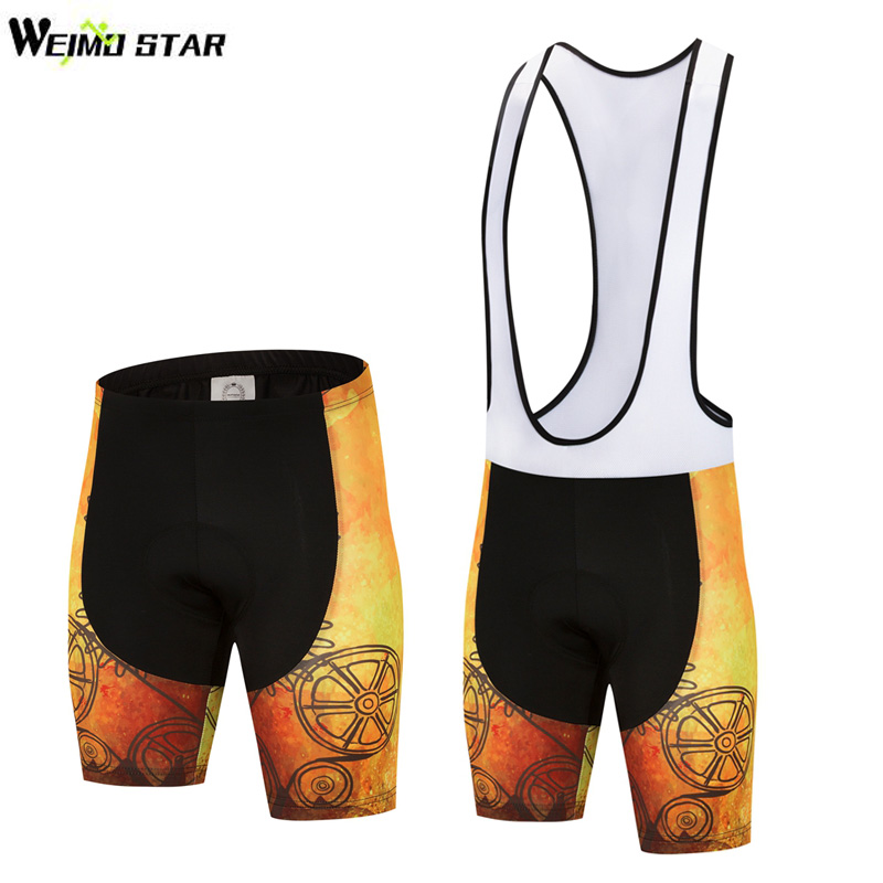 Weimostar Cycling Shorts Bike Outdoor Sports Shorts Racing Bicycle DOBY 5D Pad Shockproof Underwear Bike Bib Shorts Equipment