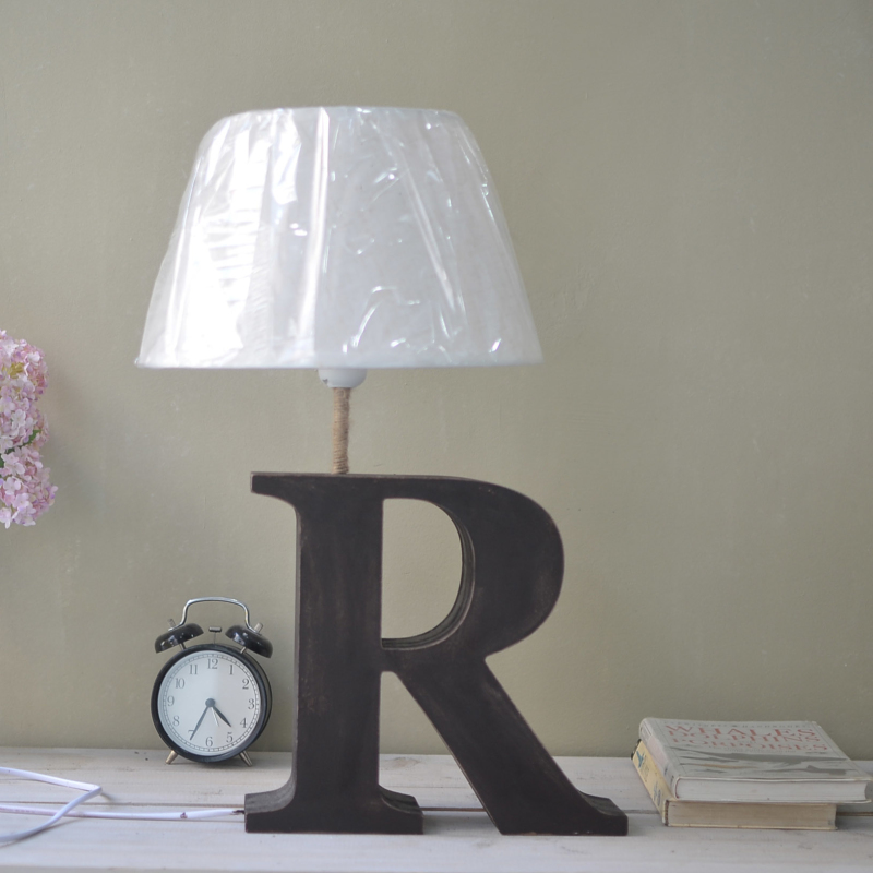 <font><b>Scandinavian</b></font> fashion creative bedroom lamp letters <font><b>home</b></font> accessories crafts European style retro nostalgia craft free shipping
