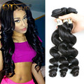 QT Hair Products Cheap Brazilian Loose Wave Virgin Hair 3Pcs/Lot Human Hair 7A Unprocessed Brazilian Loose Wave Hair 100g/Pcs
