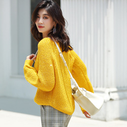 Yellow Wool Sweters Women Invierno 2019 Cute Sweater Sapphire Turtleneck Knitted Sweater Runway Women Sweaters and Pullovers ins