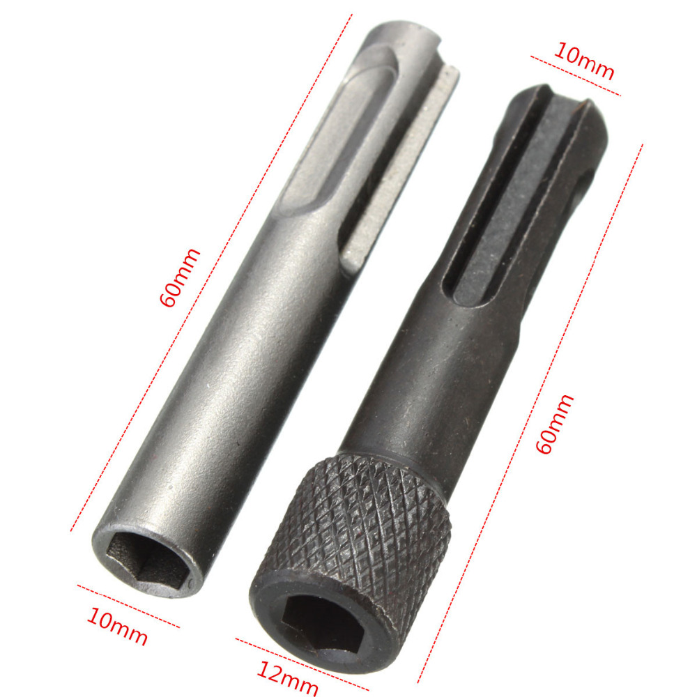 2 PCS Hex Shank Tournevis Titulaire Drill Bit Adapter 1/4 - Foret - Photo 5