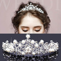 Tiaras y Coronas de La Boda Tiara Nupcial Corona tiaras de La boda para las novias HP-001