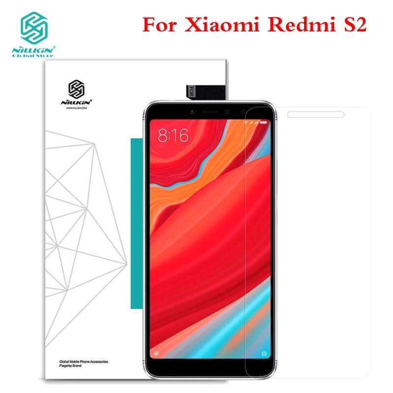 NILKIN For Xiaomi Redmi S2 Tempered Glass NILLKIN Amazing H Anti-Explosion 9H Screen Protector For Xiaomi Redmi S2 Hongmi S2