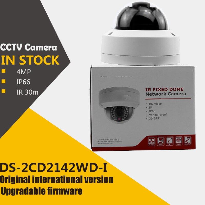 bilder für Auf lager ursprüngliche englisch version DS-2CD2142FWD-I 4MP WDR Feste Kuppel Netzwerk Kamera 3D Digitale Rauschunterdrückung