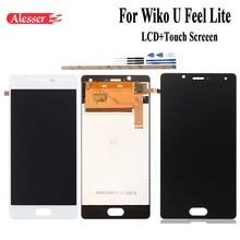 Alesser için wiko U hissediyorum Lite lcd ekran ve dokunmatik ekran montaj onarım parçaları yedek cep telefonu aksesuarları + araçları + bantlar