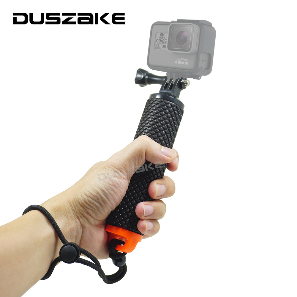 Floating Hand Grip For Gopro hero 5 Float bobber stick For Go pro SJCAM Handle pole monopo accessory Sport Action camera accessorios gopro floating bobber for gopro hero 5 sjcam sj4000 xiaoymi yi action camera float monopod for go pro sport cam 50