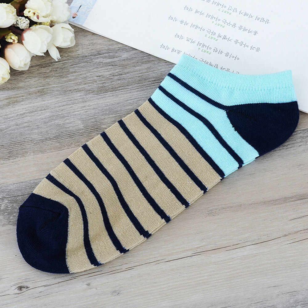 FEITONG 1 Çift Kış sıcak kadınlar pamuk çorap Kadın Ve Erkek Rahat Şerit Pamuklu Çorap Terlik Kısa Ayak Bileği Çorap popsocket