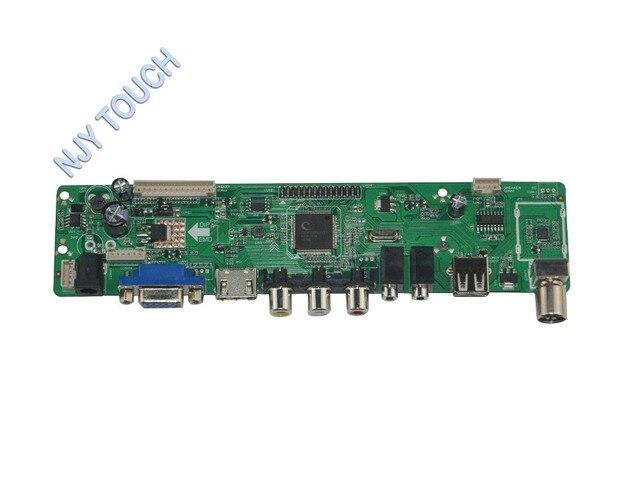 LA.MV56U.A New Universal HDMI USB AV VGA ATV PC LCD Controller Board for 17.3inch 1920x1080 N173HGE-L11 LED LVDS Monitor Kit