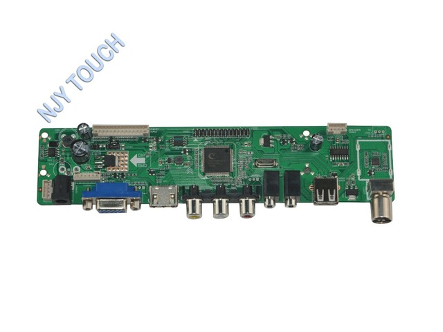 LA. MV56U. Новый Универсальный HDMI USB AV VGA ATV ПК ЖК Плата Контроллера для 17.3 inch 1920x1080 N173HGE-L11 LED LVDS Монитор Kit