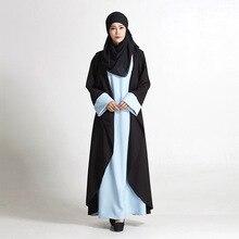2016 New Arrival Islamic Muslim long dress for Women Malaysia abayas in Dubai Turkish ladies clothing high quality long dress
