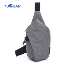 Tuguan Men Chest Pack Women Sling Bag Designer Famous Brand Canvas Casual Cross Body Outdoor Sports Ipad Travel Shoulder