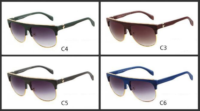 Mens-Womens-Retro-Half-frame-Sunglasses-Frame (1)