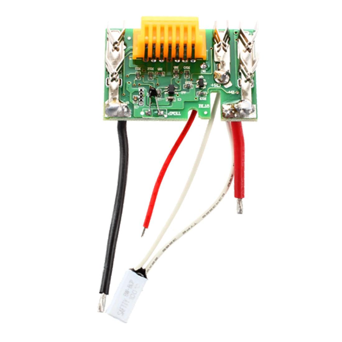 18V Lithium Battery PCM PCB Li-ion Protect Circuit Module Board DIY for Makita Drill Green