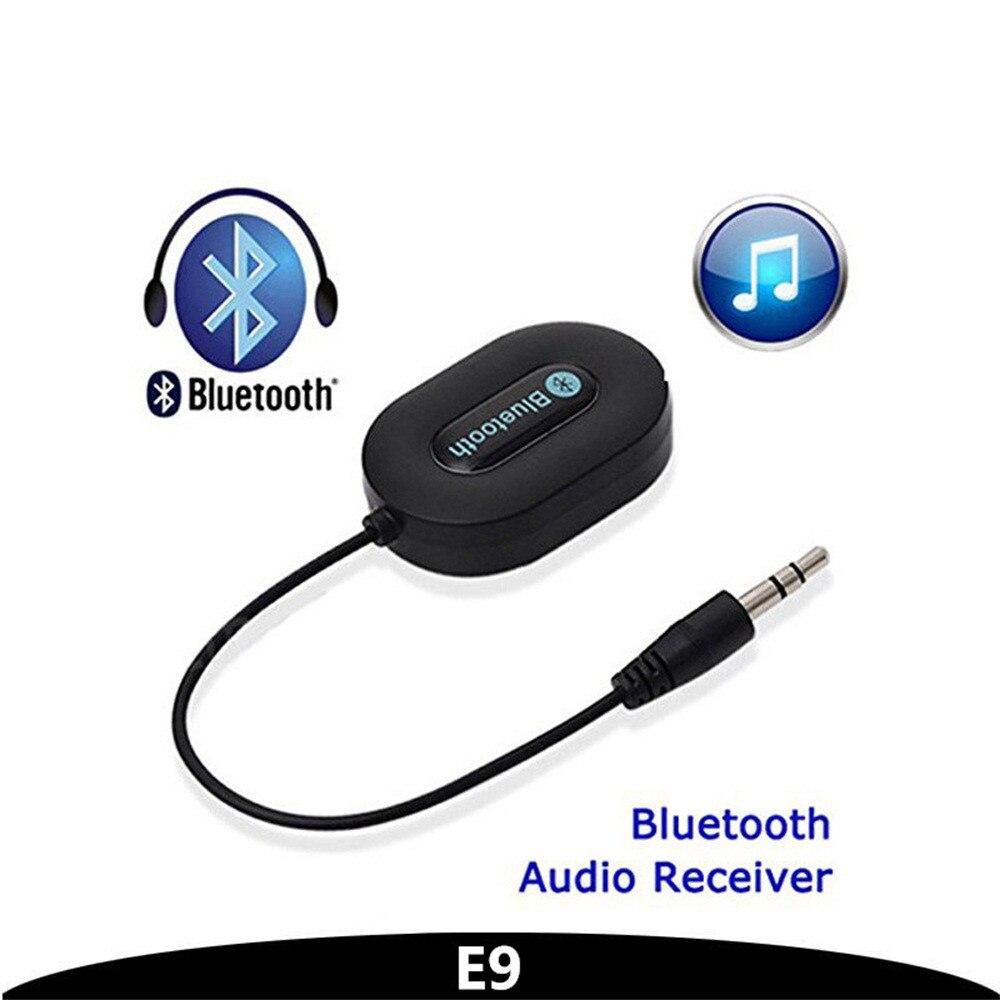 Handsfree Car AUX Speaker Adapter Bluetooth 3.0 Music Receiver 3.5mm Adapter Handsfree Car AUX