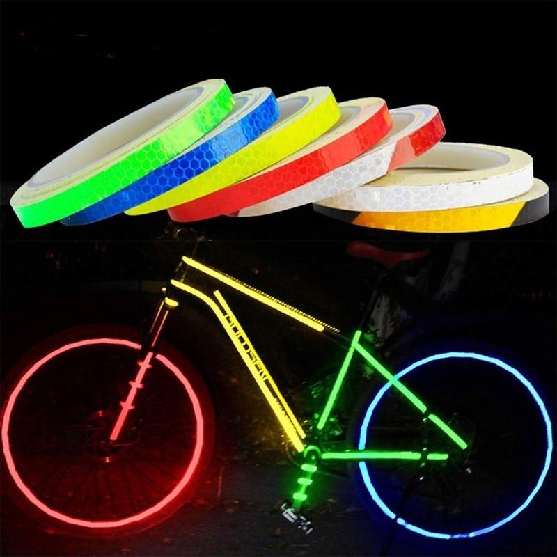 Silicon Tape Reflector Bike Cycling Reflective Band Warning Safety