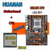 HUANAN Golden Deluxe Version X79 Gaming Motherboard For Intel LGA 2011 ATX Combos E5 2680 V2