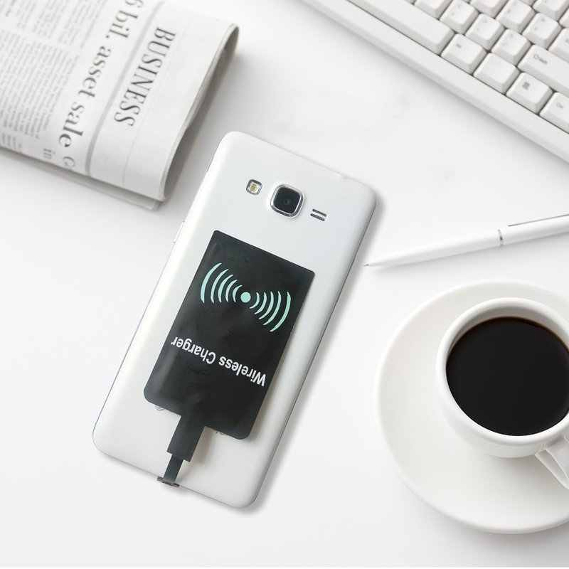 3 نمط العالمي تشى اللاسلكية شحن مهد وحدة الاستقبال ل فون الروبوت المصغّر usb نوع-c جهاز الاستقبال اللاسلكي للهاتف المحمول المحمول