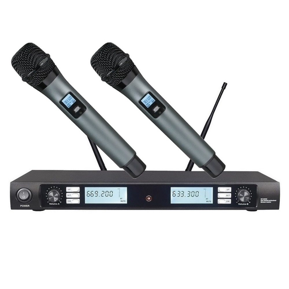 bolymic professional uhf wireless vocal microphone system handheld microphone mikrofon stage. Black Bedroom Furniture Sets. Home Design Ideas