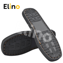 Elino Men Women DIY Rubber Soles Wear-resistant Anti-slip Woven Shoe Insoles Sneaker Cotton Slipper Wholesale Drop-ship