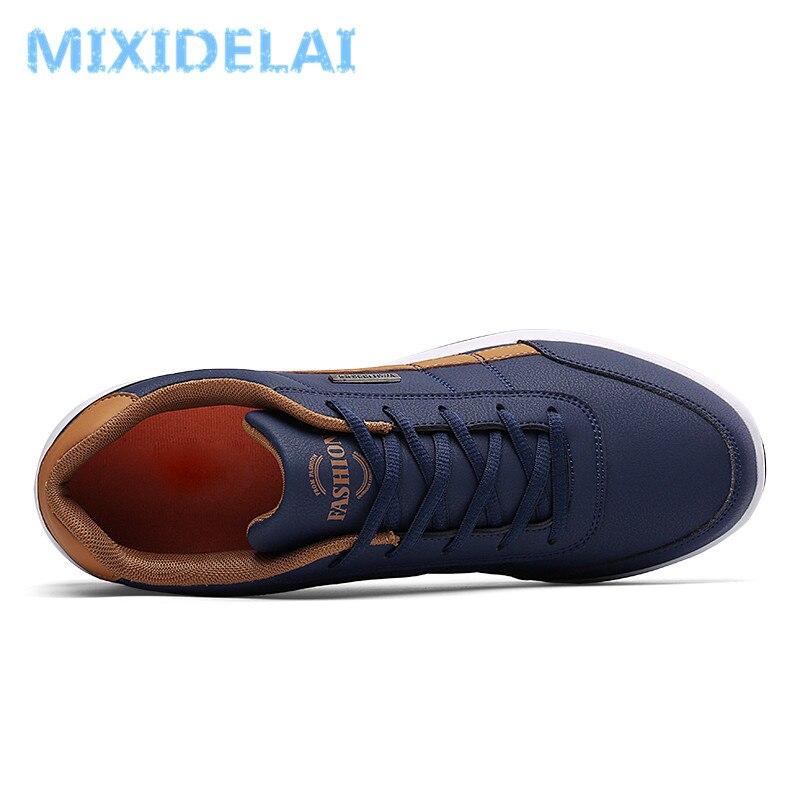 2020 nouvelle mode hommes baskets pour hommes chaussures décontractées respirant à lacets hommes chaussures décontractées printemps en cuir chaussures hommes chaussure homme