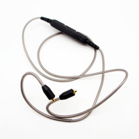 New Arrival Tinned Copper Wire Replacement Wireless Bluetooth 4 1 Cable MMCX Upgrad Cable For Shure
