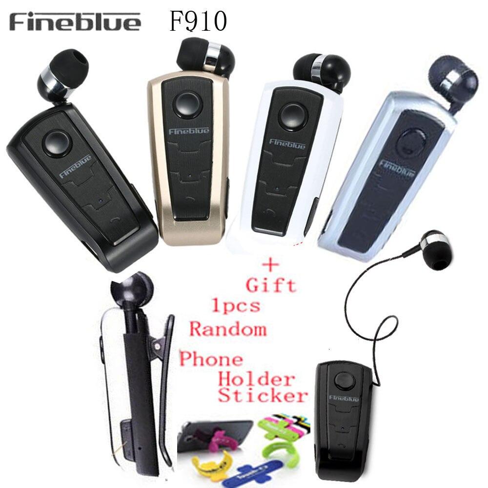 Original Fineblue F910 Wireless Driver Auriculares Bluetooth Earphone Vibration Wear Clip Stereo Sport font b Headset