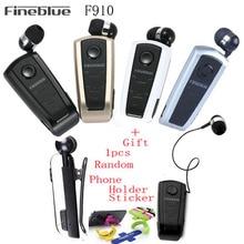 Original Fineblue F910 Controlador Inalámbrico de Auriculares Bluetooth Estéreo Auricular Vibración Clip De Desgaste Del Deporte De Conducción Auricular Ecouteur