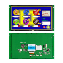 5.6 LCD TFT hmi solution with touch controller