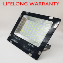 hot deal buy lifelong warranty 200w led floodlight ip65 waterproof outdoor led flood lights daylight white ac110-265v led spotlights