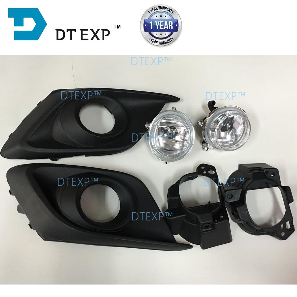 Full set fog lamp for mazda 3 AXELA OEM BS1E 51 680 with fog lamp support h11 bulb switch assy also available in Car Headlight Bulbs LED from Automobiles Motorcycles