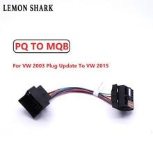 LEMON SHARK ISO Upgrade Radio Adapter  RCD330 RCD330G PLUS FOR VW 2003 To 2015 PQ TO MQB