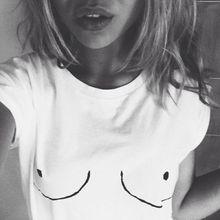 2016 New Sexy Funny Bra Tops Tee Women Tumblr Femme T shirt Tops Blusa tshirt Lady WMT157