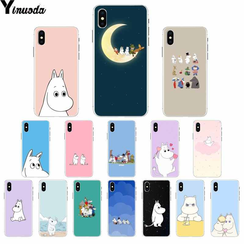 Yinuoda Hippo Cute animal cartoon Customer High Quality Phone Case for iPhone X XS MAX  6 6s 7 7plus 8 8Plus 5 5S SE XR