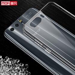 Huawei Honneur 9 cas Huawei Honor9 couverture de silicium clair souple retour mofi ultra mince 5.15