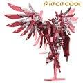 2016 Limited Edition Piececool 3D Металлические Головоломки Гремят Крылья Gundam Робот P069-RS DIY 3D Лазерной Резки Модели Головоломка Игрушки