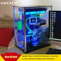 QDIY PC A009 ATX Transparent Computer Case PC Case Water Cooled Acrylic Computer Case