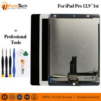 12.9 inch Black White For iPad Pro 12.9 (2015) A1652 A1584 Tablet LCD Screen Display Touch Panel Digitizer Assembly 2732x2048