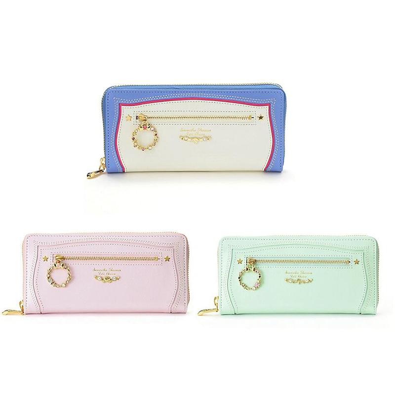 Sailor Moon 25th anniversary Sailor Senshi Long Wallet purse moon flac jeans