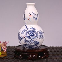 Ceramic vase ornaments Home Furnishing eggshell glaze porcelain no simple trumpet Jingdezhen ceramic package mail